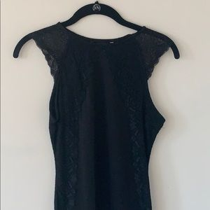 Dresses & Skirts - Black Slim Lace Dress